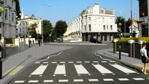 Artists impression of Seven Dials improvements