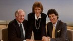 Frank Bough, Sally Magnussen and Jeremy Paxman