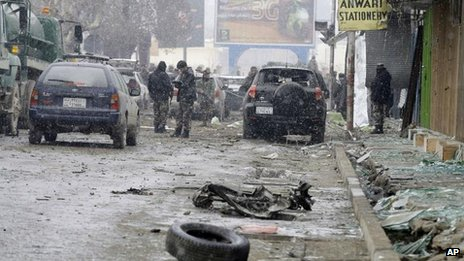 Aftermath of Kabul attack, 15 January 2013