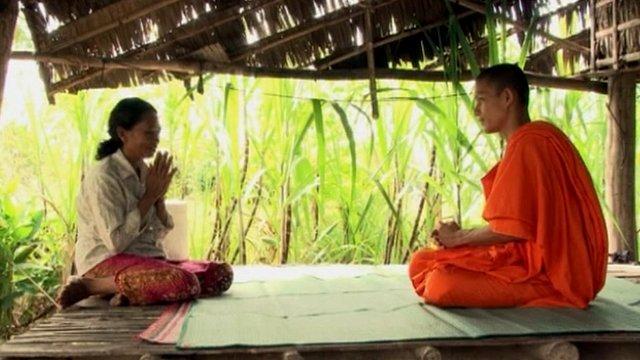 Monk in Cambodia