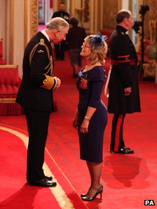 Wendy and Prince Charles