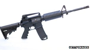 AR-15 rifle