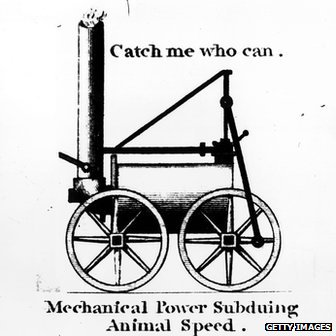 An 1805 advertisement for Richard Trevithick's portable steam engine