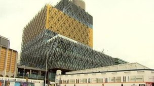 New Birmingham library
