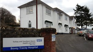 Bovey Tracey Hospital