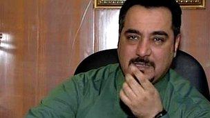 Haidar al-Saadi, Iraqi justice ministry spokesman