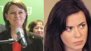 Leanne Wood and Eve Myles