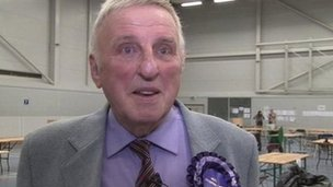 Bill Longmore, West Mercia's first police and crime commissioner