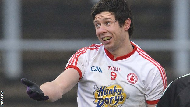 Sean Cavanagh hit 1-5 for Tyrone