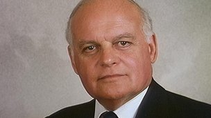Conservative MP Sir Peter Tapsell