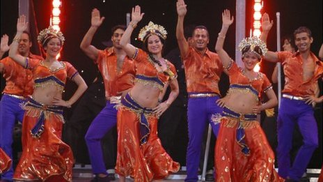Cast of Bombay Dreams