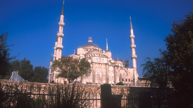 Sultanahmed Mosque in Istanbul, Turkey