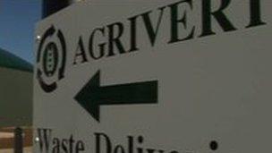 Agrivert waste plant