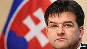 Slovakia's Miroslav Lajcak