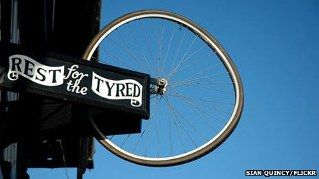 Rest for the Tyred (photo courtesy Sian Quincy/Flickr)