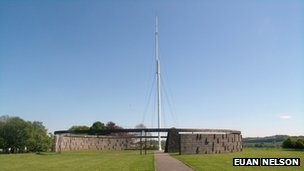 Bannockburn flagstaff