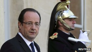 French President  Francois Hollande, 17 January, France