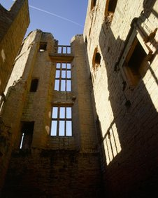 Interior of Leicester&#039;s Building at Kenilworth Castle