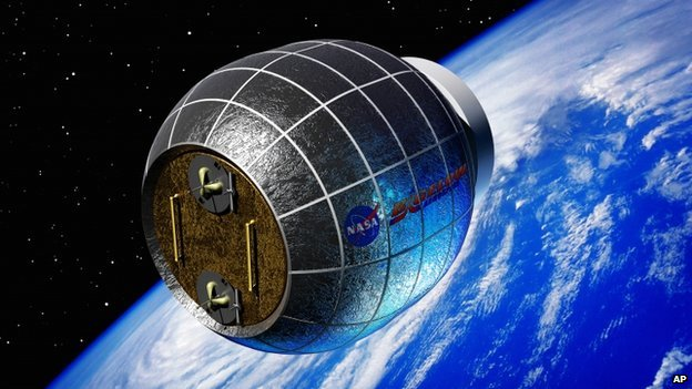 Artist's impression of inflatable space station