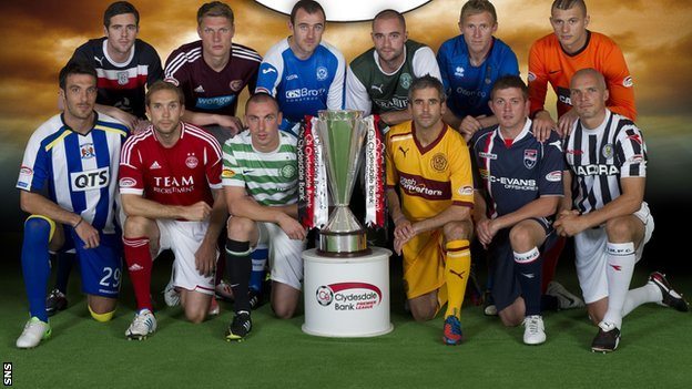 The 12 SPL teams for season 2012/13