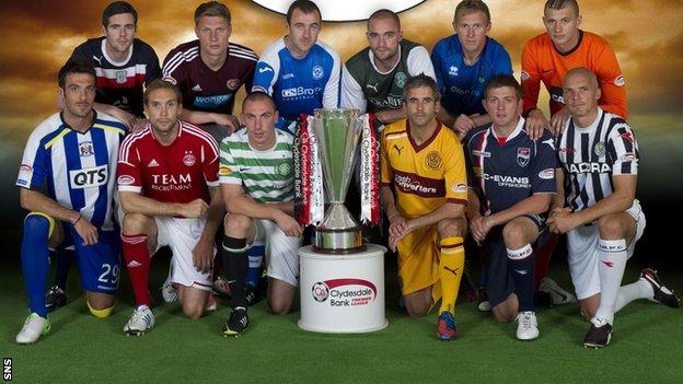 The 12 SPL teams for season 2012/13