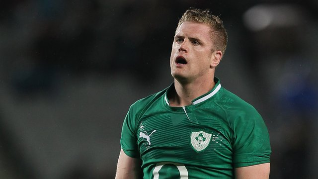 Ireland captain Jamie Heaslip