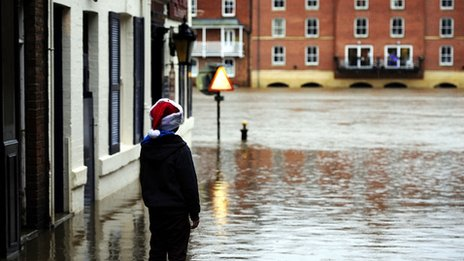 Flooding in York