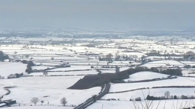 Some parts of Britain have already suffered heavy snowfall