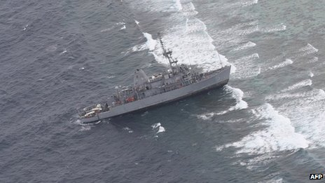 Image released on 18 January 2013 by Philippine Western Command