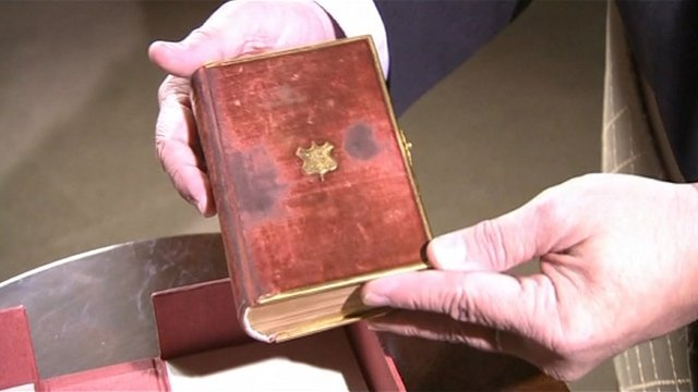 President Abraham Lincoln&#039;s Bible 