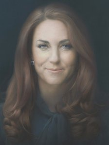 Paul Emsley's portrait of the Duchess of Cambridge