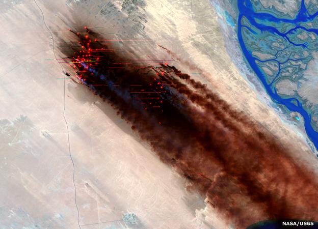 Kuwait fires