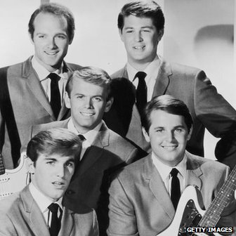 Beach Boys, in 1962