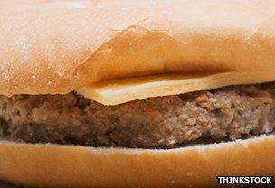Burger in a bun