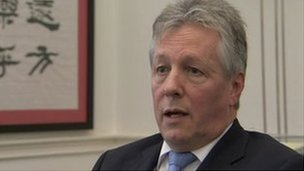 Peter Robinson described the SDLP and Alliance proposal as nonsense