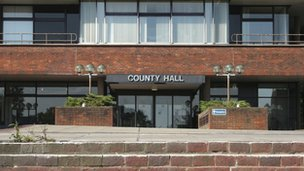 County Hall, Worcester