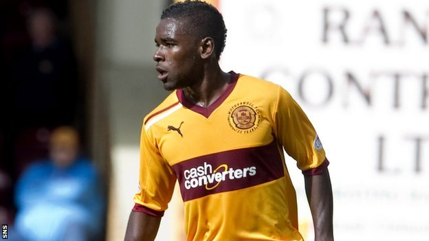 Motherwell defender Zaine Francis-Angol