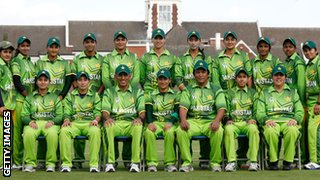 The Pakistan squad in England last year