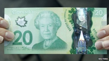 Canada notes have 'wrong' leaf