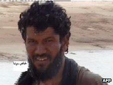 Abdul Rahman al-Nigeri, reportedly the leader of the hostage-takers (file photo)