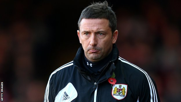 Former Bristol City manager Derek McInnes