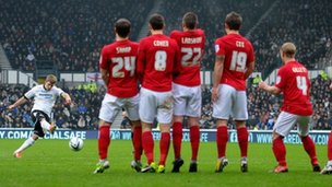Derby versus Nottingham Forest