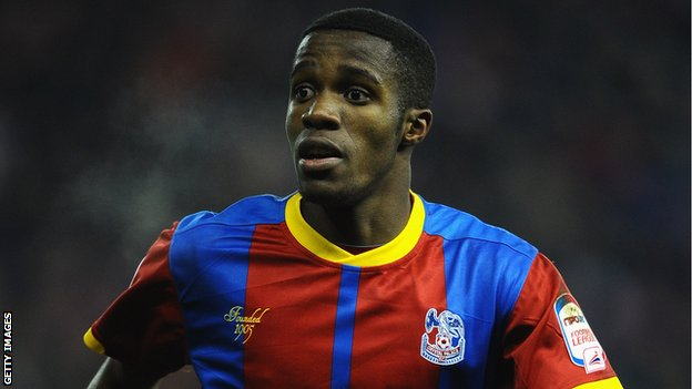 65390006 wilfried zaha getty Wilfried Zaha bound for Manchester United