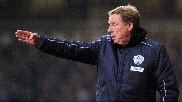QPR Manager, Harry Redknapp