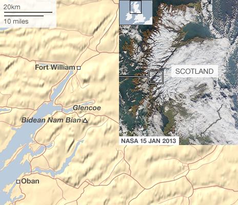 Map Scotland