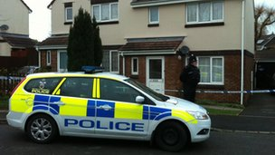 Scene of boy's death in Champernowne, Devon
