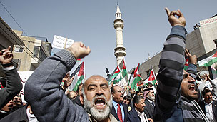 Jordanian street protests