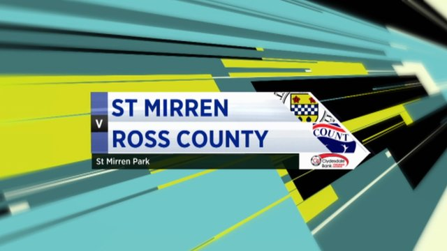 Highlights - St Mirren 1-4 Ross County