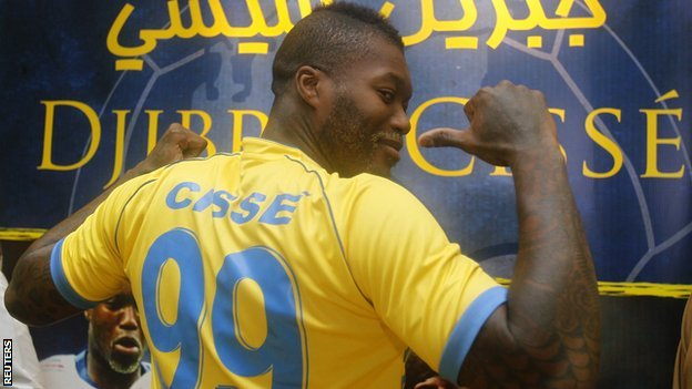 QPR striker Djibril Cisse