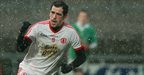Plunkett Kane celebrates after scoring a goal for Tyrone in their win over Fermanagh